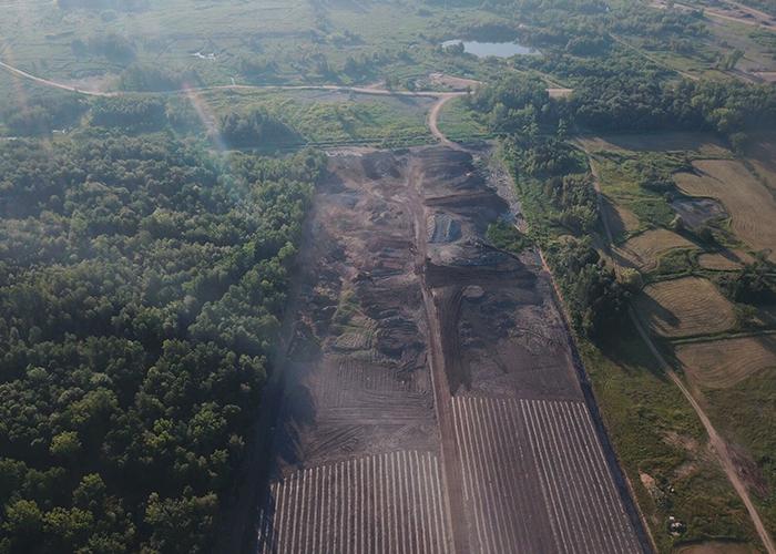 Site de reboisement Mascouche - Solterra